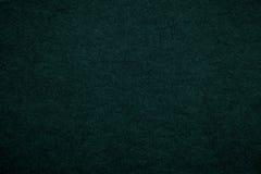 Текстура старой темной ой-зелен бумажной предпосылки, крупного плана Структура плотного изумрудного картона Стоковая Фотография RF
