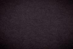 Текстура старой темной предпосылки коричневой бумаги, крупного плана Структура плотного черного картона Стоковое фото RF