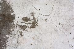 Текстура старой треснутой стены гипсолита Стоковое фото RF