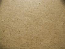 Текстура старой тяжелой бумаги перечень Стоковая Фотография