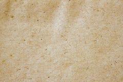 Текстура старой moldy бумаги с грязью пятнает, пятна, целлюлоза включений, коричневая предпосылка текстуры картона, grunge Стоковое Изображение RF