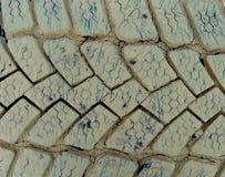 Текстура старых автошин автомобиля Стоковая Фотография RF