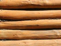 Текстура старых деревянных журналов Стоковые Фотографии RF