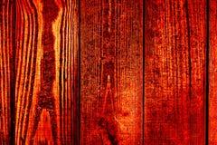Текстура старых деревянных планок с треснутой и смазанной краской Стоковая Фотография RF