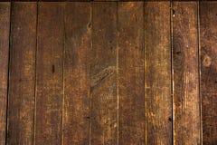 Текстура старых деревянных планок с треснутой и смазанной краской Стоковая Фотография