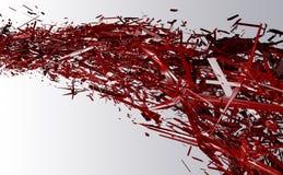 текстура стекла конспекта 3d Стоковые Изображения