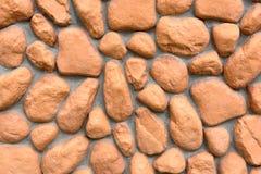 Текстура стены больших камней Стоковое фото RF