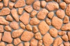 Текстура стены больших камней Стоковое Фото
