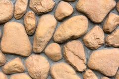 Текстура стены больших камней Стоковое Изображение
