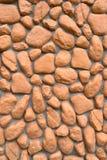 Текстура стены больших камней Стоковая Фотография