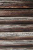 Текстура стены блокгауза Стоковые Фотографии RF