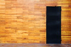 Текстура стены деревянного блока Стоковое Фото