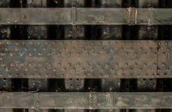 Текстура стены металла промышленная Стоковые Изображения RF