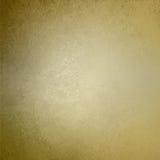 Текстура стены предпосылки золота Брайна винтажная Стоковое Изображение
