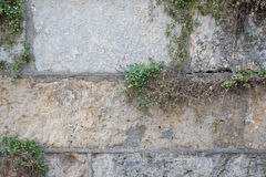 Текстура стены сделанной больших утесов Стоковое Изображение