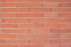 Текстура стены старого стиля красных линий кирпича Стоковое фото RF