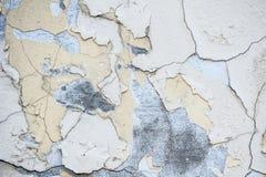 Текстура стены с затрапезной краской Стоковые Фото