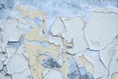 Текстура стены с затрапезной краской Стоковые Фотографии RF
