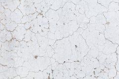 Текстура стены с треснутой краской Стоковые Фотографии RF