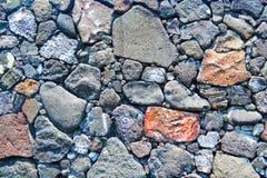 Текстура стены утеса Стоковое Фото