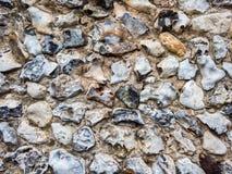 Текстура стены Flintstone Стоковая Фотография RF