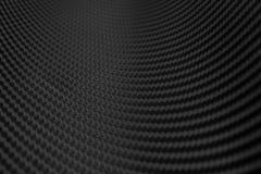 Текстура стикера волокна углерода Роскошный черный материал стоковые фотографии rf