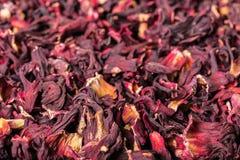 Текстура сухого флористического чая Стоковые Фотографии RF