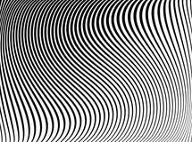 Текстура с волнистым, изгибает линии иллюстрация вектора