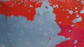 Текстура с треснутой краской Стоковая Фотография
