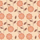 Текстура с цветками Стоковое фото RF