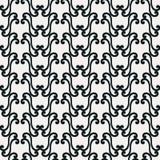 Текстура с элементами свирли Стоковые Фотографии RF