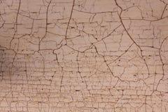 Текстура с craquelure Стоковая Фотография RF