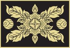 текстура тайская Стоковое фото RF