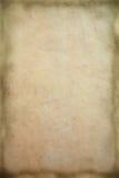 текстура темного края старая бумажная Стоковая Фотография RF