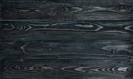 Текстура темной деревянной таблицы сбор винограда предпосылки черный Стоковые Изображения
