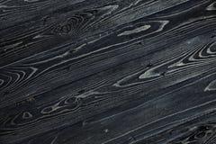 Текстура темной деревянной таблицы сбор винограда предпосылки черный Стоковое Изображение