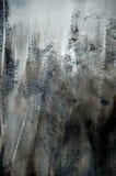 текстура темной серой краски предпосылки грубая Стоковая Фотография