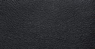 Текстура темной черноты естественной кожи, с венами Кожаная текстура Стоковое Изображение RF