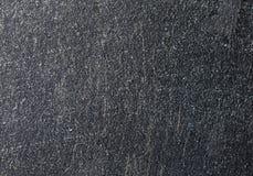 Текстура темноты почистила поцарапанный металл щеткой Стоковая Фотография RF