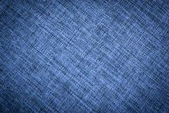 Текстура темно-синей ткани холста иллюстрация штока