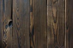 Текстура темных коричневых доск стоковое фото