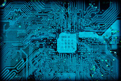 текстура техника предпосылки электронная промышленная Стоковая Фотография RF