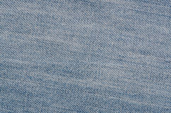 Текстура ткани джинсов Стоковые Фотографии RF