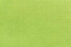 текстура ткани зеленая Стоковое Фото
