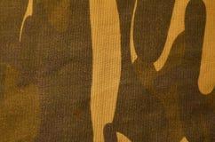 Текстура ткани камуфлирования ткани Стоковая Фотография RF