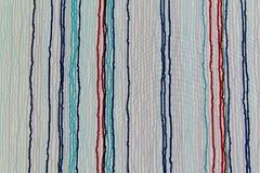 Текстура ткани нашивки Стоковая Фотография