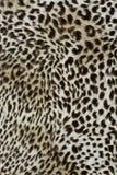 Текстура ткани печати striped леопард для предпосылки Стоковая Фотография RF