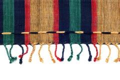текстура ткани предпосылки Стоковые Фото