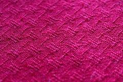 текстура ткани розовая Стоковое фото RF
