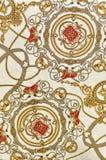 Текстура ткани сбора винограда Стоковое фото RF